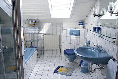 Badezimmer - Ferienwohnung im Bayerwald