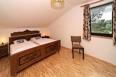 Schlafzimmer Fewo im Bayerischen Wald